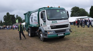 Servicing the Romsey Show '13