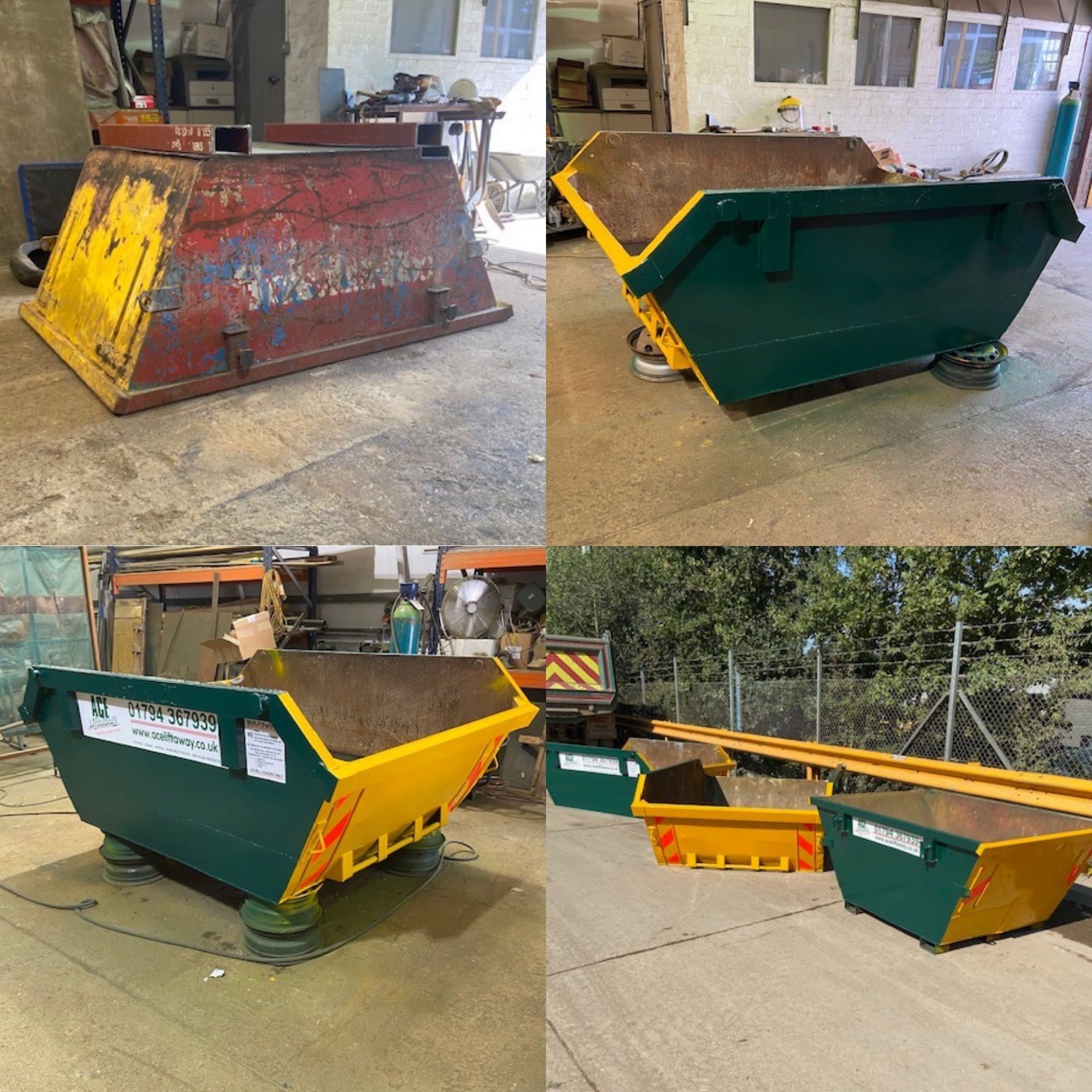 Refurbished Skips